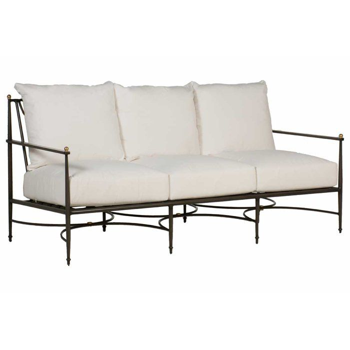 Roma Patio Sofa With Cushions Outdoor Furniture Sofa Outdoor