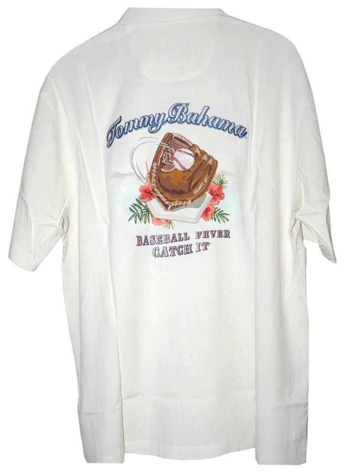 Calling all baseball fans limited number of tommy for Custom tommy bahama shirts