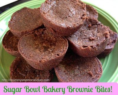Mommy Memorandum blogger, Julee, reviews our Brownie Bites!