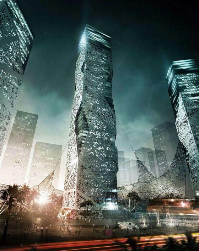 Arquitetos imaginam o futuro em perspectivas de cidades - Arcoweb