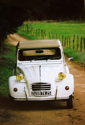 Attention ! 2CV au coin du bois !   http://www.pinterest.com/adisavoiaditrev/boards/