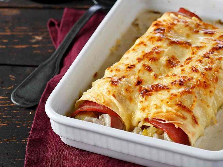 Avec les lectrices reporter de Femme Actuelle, découvrez les recettes de cuisine des internautes : Cannellonis aux endives et jambon