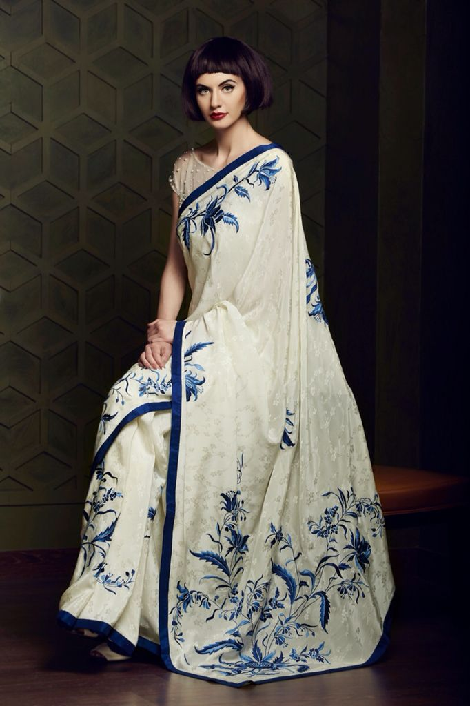 ASHDEEN - Parsi Gara Embroidery, Hand embroidery, Made in India, Crafts of India, Saris of India