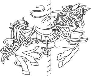 Carrousel Kleurplaat 769 Best Coloring Pages Images On Pinterest Coloring