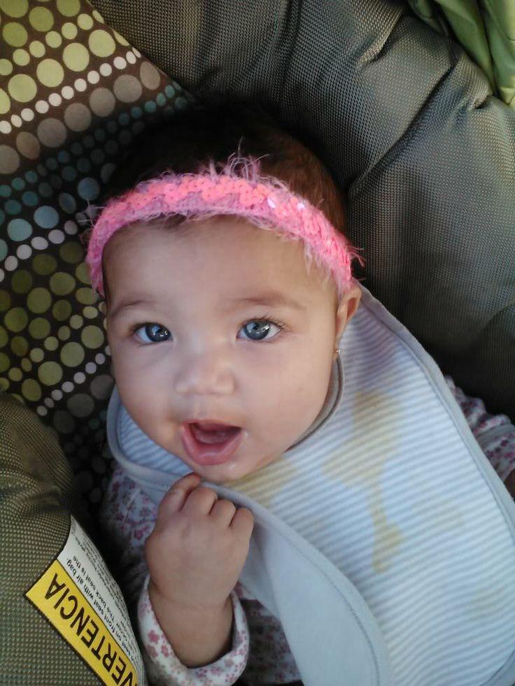 Mixed Cute Eyes Blue Race Babies