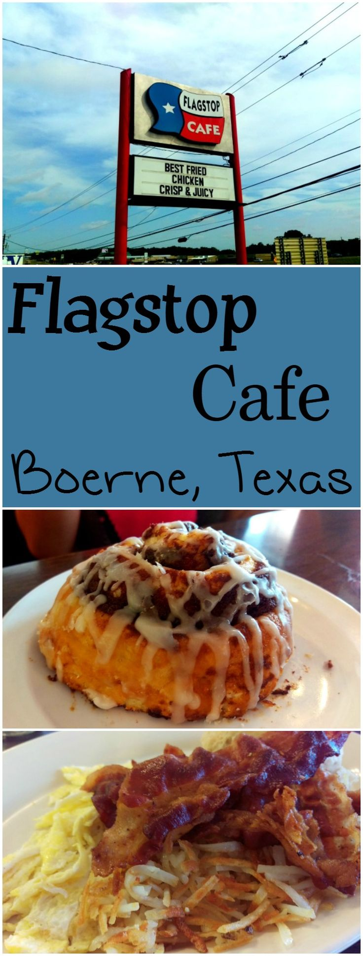 Flagstop Cafe Located in Boerne Texas Serves Amazing Breakfast