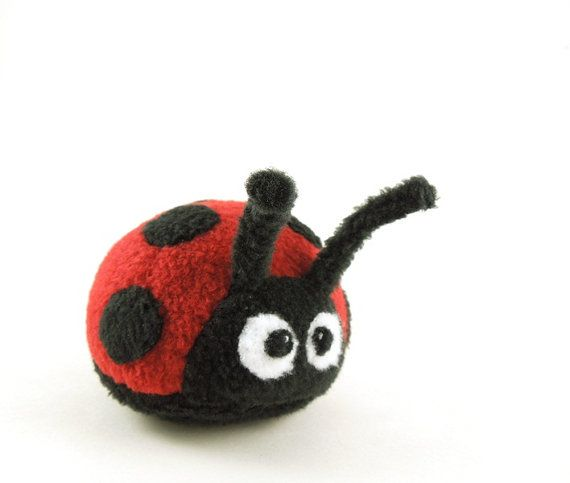 9 Best Images About Stuffed Ladybugs On Pinterest