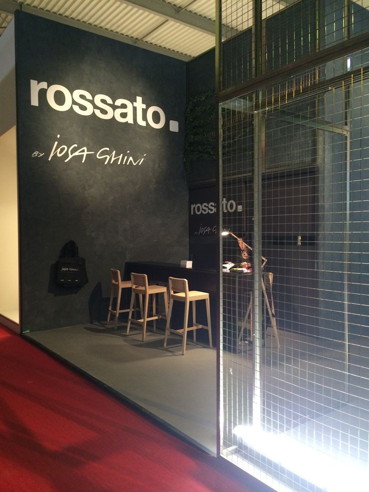 Rossato at Salone del Mobile in Milan - Opening day!  Classic furniture