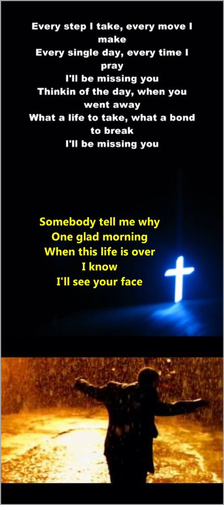 MISSING YOU - Puff Daddy
