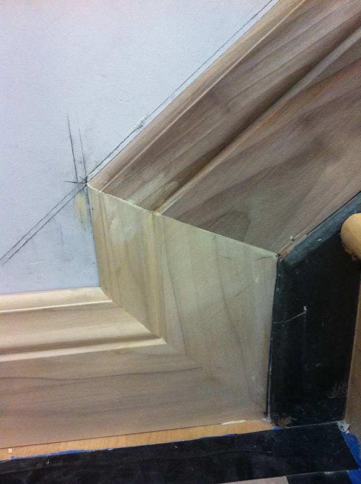 Bottom Of Stair Stringer Baseboard Michael Auldridge