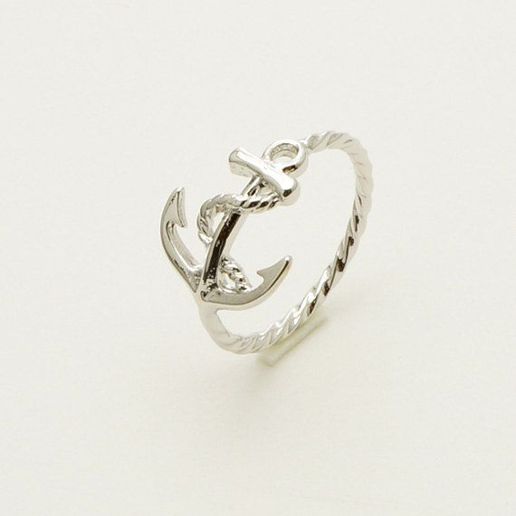 New Anchor Ring in Silver / R056S