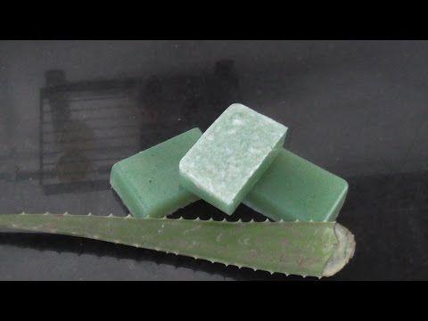 Jabón artesanal de Aloe Vera en la Comunidad de Belleza - Hogarmania.com
