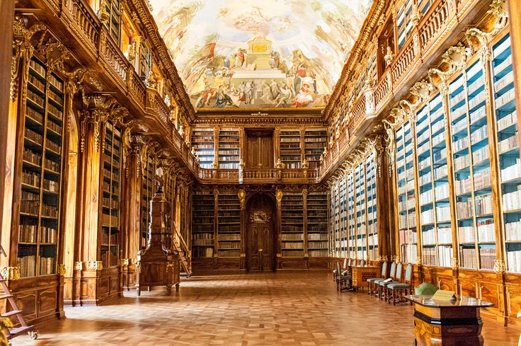 A dream come true for book lovers. AFAR.com Place: Strahov Monastery by Charissa Fay