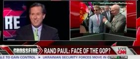 Santorum Dismisses Rand Paul's 2016 Prospects: 'The Republican Party Is Not A Libertarian Party'