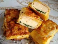 Конвертики с сыром из лаваша