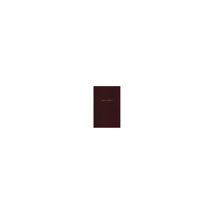 Holy Bible : King James Version, Thinline Reference, Bonded Leather, Burgundy, Red Letter Edition