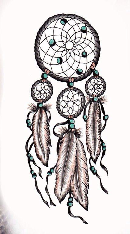 Dream catcher tattoo. I'm definitely getting this on my arm