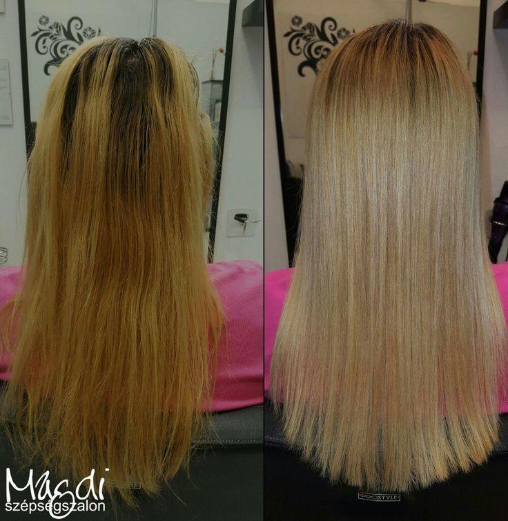 Magdi befestette és vágta. Az eredmény magáért beszél :) Ezért szeretjük a munkánk :)  www.magdiszepsegszalon.hu  #hairstyle #hair #hairfasion #haj #festetthaj #coloredhair #széphaj #szépségszalon #beautysalon #fodrász #hairdresser #ilovemyhair #ilovemyjob❤️