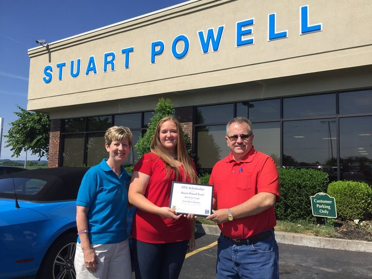 We were honored to award recent Mercer Co. High School grad, Emily Hamilton, with a $1,000 Built Ford Tough National FFA scholarship!  Emily Marie Hamilton plans to use the scholarship to pursue a degree at UK with an intended career in large animal veterinary medicine.