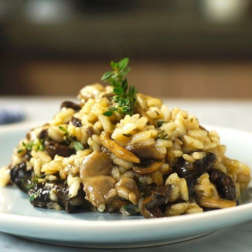 Capriche no jantar do fim de semana preparando um prato cheio de sabor: risoto ao funghi.