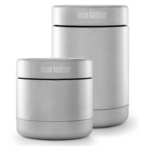 KLEAN KANTEEN STAINLESS STEEL 8oz Vacuum Insulated CANISTER CONTAINER thermos