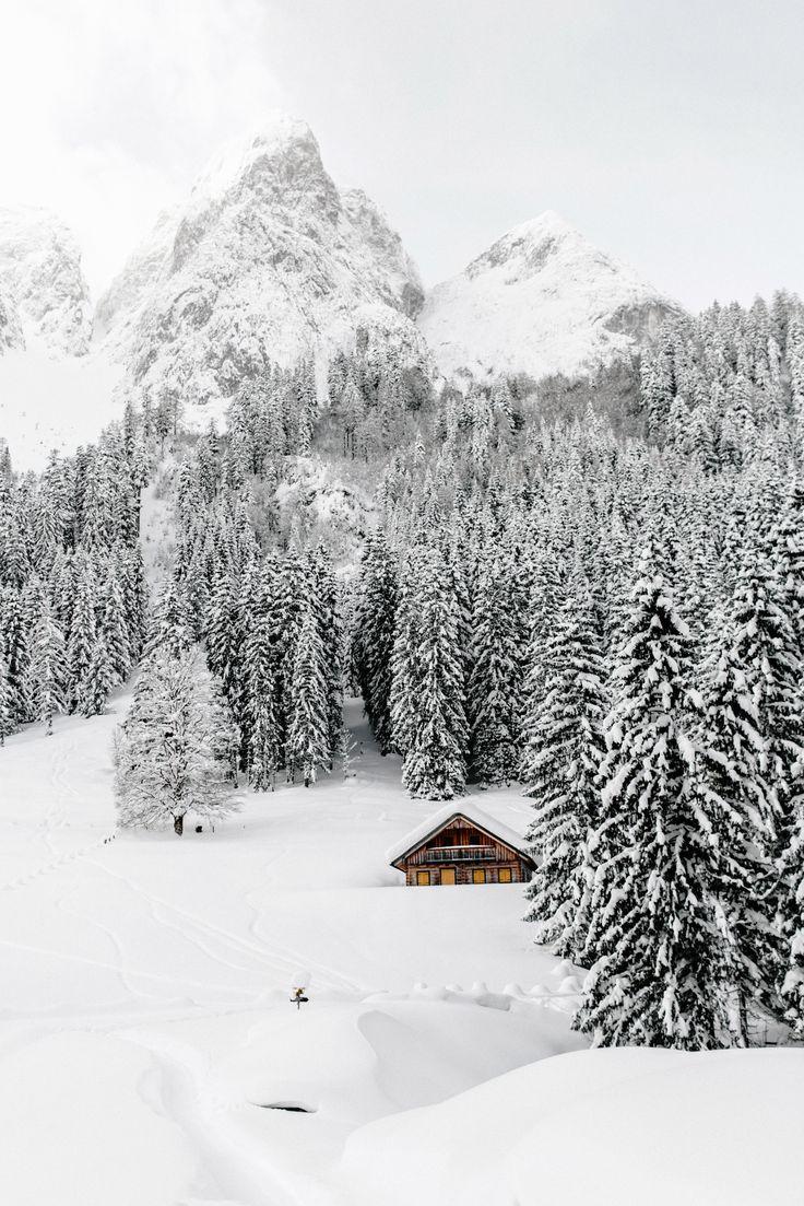 Gosausee in Austria #travel #wanderlust #winter #austria #mountains #adventure