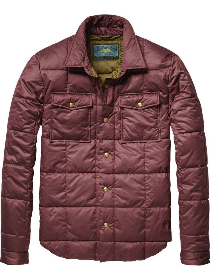 Lightweight Quilted Jacket   Jackets   Men's Clothing at Scotch & Soda