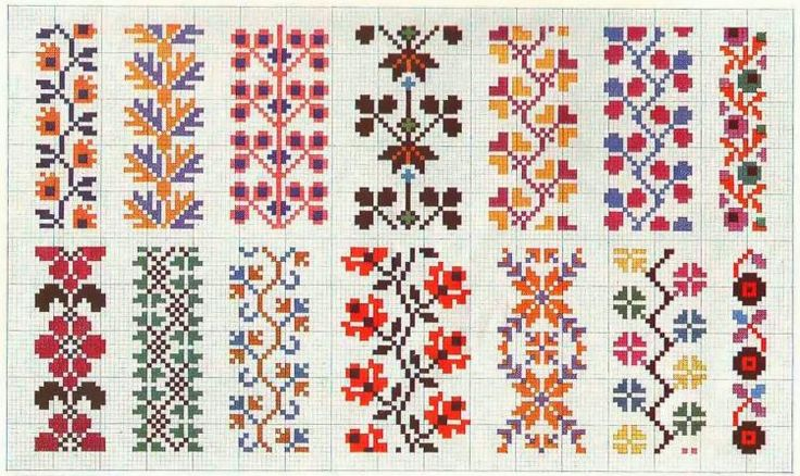 Folk patterns - Majida Awashreh - Λευκώματα Iστού Picasa