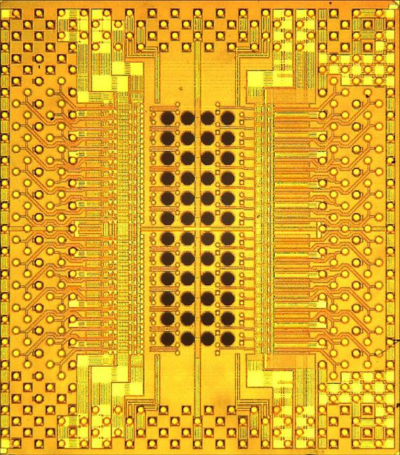 A look at the IBM Holey Optochip, a new chip architecture capable of transferring a terabit of information per second.