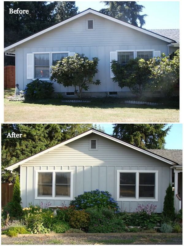The Remodeling Series Part 1 Ranch To Cottage An Oregon Cottage Exterior Siding Ranch Remodel House Paint Exterior