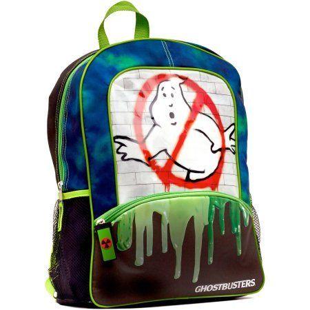 Ghostbusters No Ghost Slime Backpack, Black
