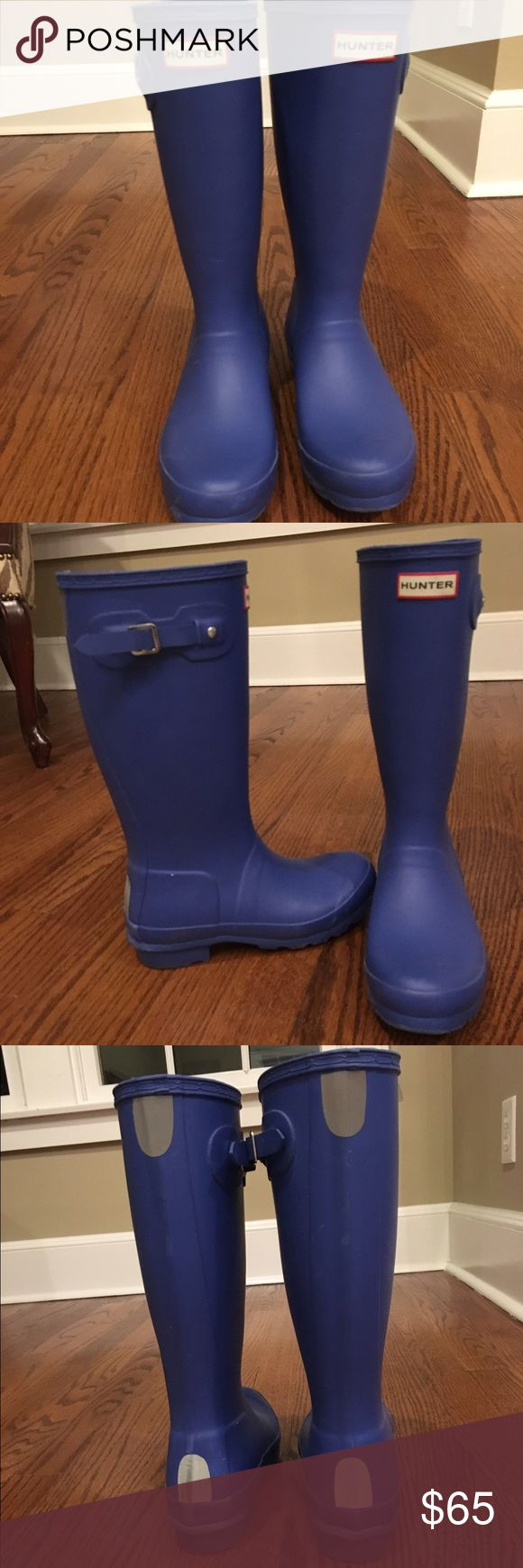 Kids Purple Hunter Rain Boots Kids Hunter tall rain boots Hunter Shoes Winter & Rain Boots
