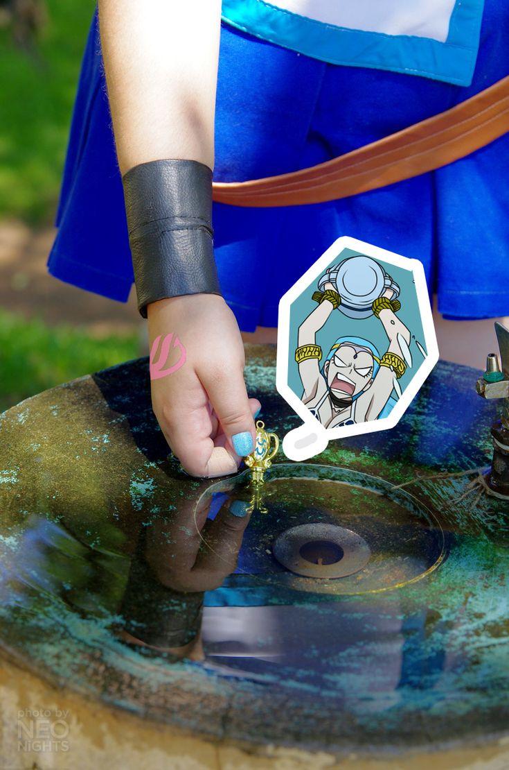 Aquarius Key - Lucy Heartifilia by claranugem