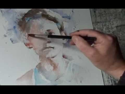 Epingle Par Fee Nomene Sur Art Watercolor Tutos Artiste