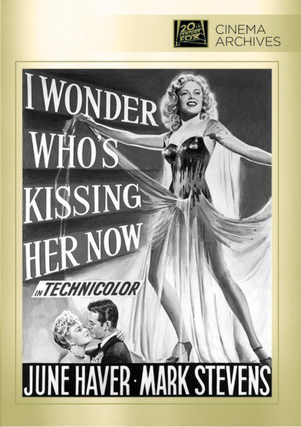 June Haver and Mark Stevens in I Wonder Who's Kissing Her Now (1947).  Mildred Kornman had uncredited role