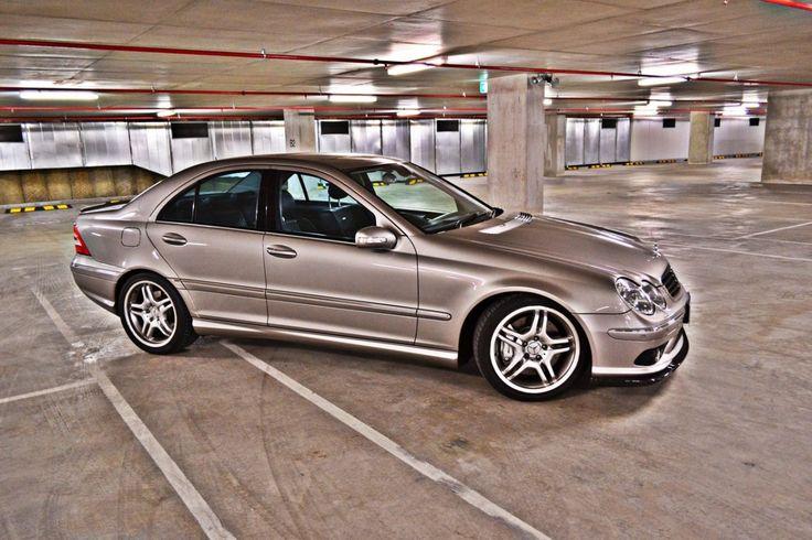 Mercedes-Benz C 55 AMG (W203) #mbhess #mbcars #mbcclass