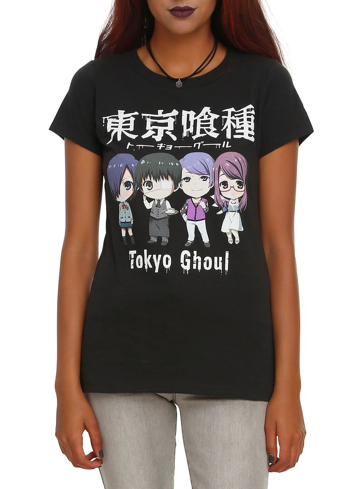 Tokyo Ghoul Chibi Girls T-Shirt | Hot Topic