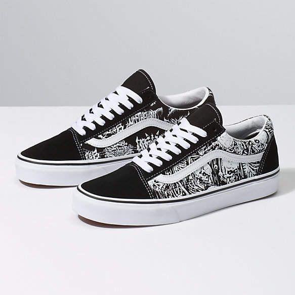 Forgotten Bones Old Skool | Vans shoes