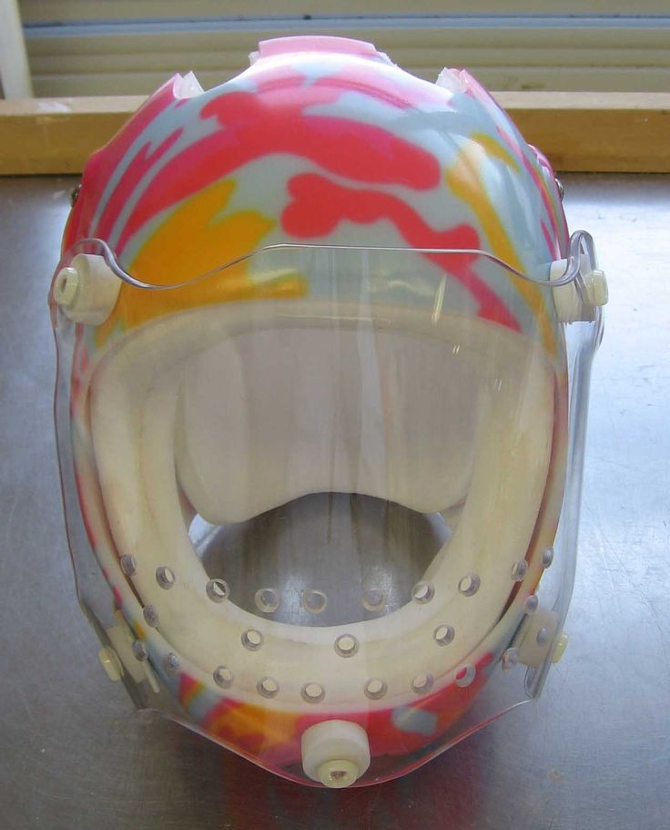 Protective Helmets from Hamilton Health Sciences  These helmets are clearly…