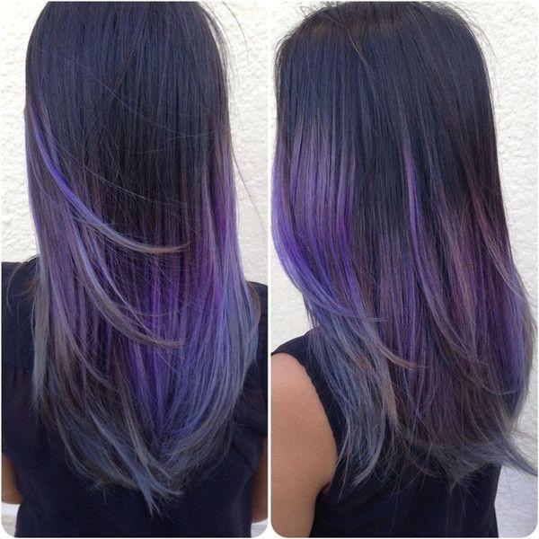 Lavender Purple Hair Color for dark hair girls, cannot wait to dye hair purple
