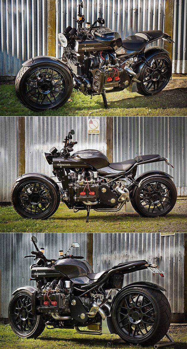 Take a Subaru WRX Engine Stick it on a Motorcycle and You Get The Mad Boxer