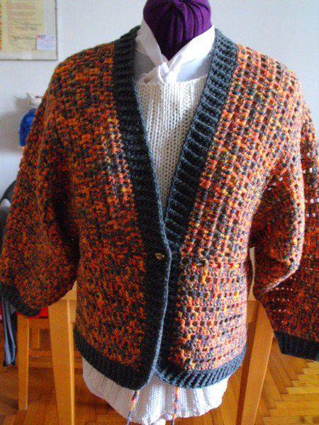 Giacche corte - Giacchina donna tg 44 a kimono - un prodotto unico di…