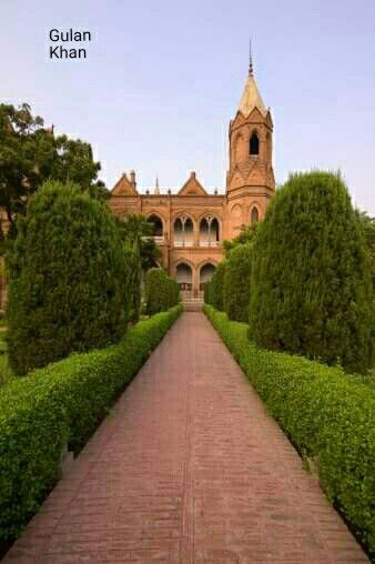 Awesome view of the University of the Punjab Lahore Punjab Pakistan