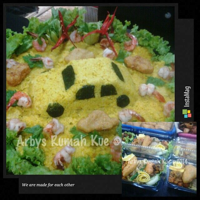 Tradisional yellow rice