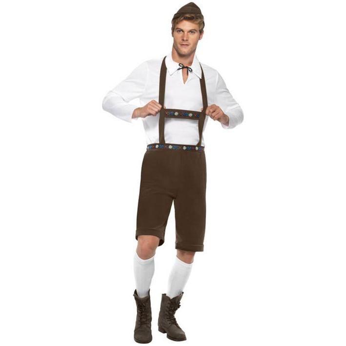 Disfraz de bávaro clásico para hombre