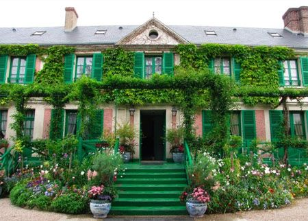 Claude monet's house in Giverny, Haute-Normandie.
