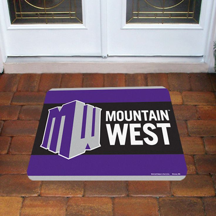 Mountain West Conference Tier 20'' x 30'' Floor Mat - Purple