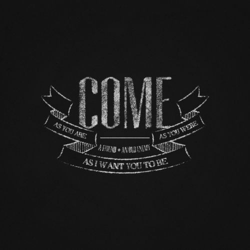 Come as You Are (by ichluge) via betype.co #typography