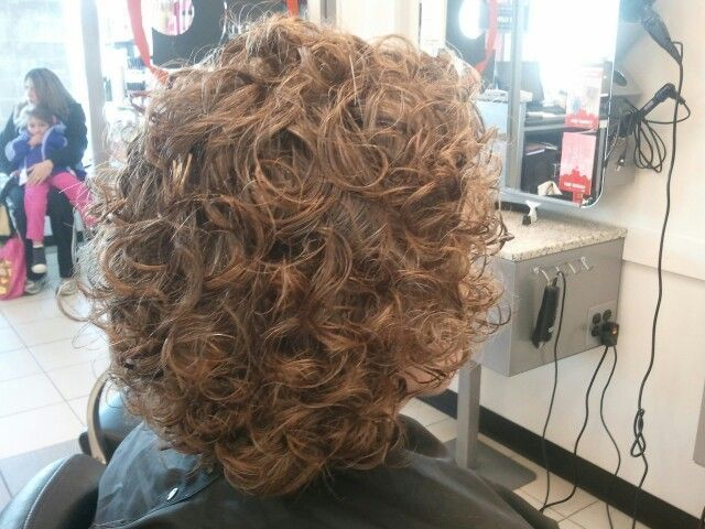 Pin On Hairstyles For School In 2020 Loose Curl Perm Headband Hairstyles Loose Wave Perm