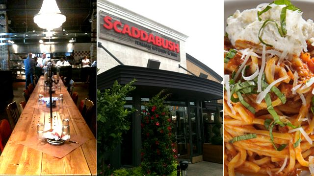 New Openings: Scaddabush Italian Kitchen  Bar